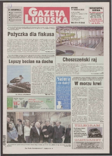 Gazeta Lubuska R. XLVIII [właśc. XLIX], nr 86 (11 kwietnia 2000). - Wyd. A