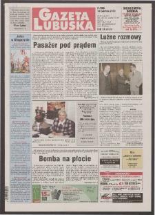 Gazeta Lubuska R. XLVIII [właśc. XLIX], nr 89 (14 kwietnia 2000). - Wyd. A