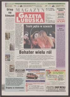Gazeta Lubuska : magazyn R. XLVIII [właśc. XLIX], nr 90 (15/16 kwietnia 2000). - Wyd. A