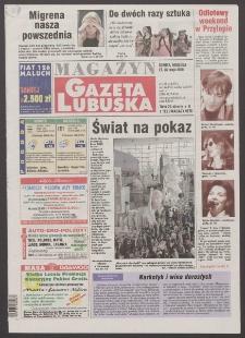 Gazeta Lubuska : magazyn R. XLVIII [właśc. XLIX], nr 123 (27/28 maja 2000). - Wyd. A
