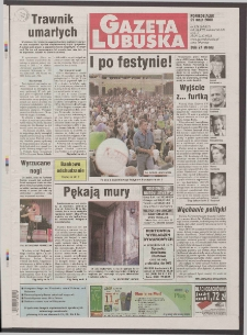 Gazeta Lubuska R. XLVIII [właśc. XLIX], nr 124 (29 maja 2000). - Wyd. A