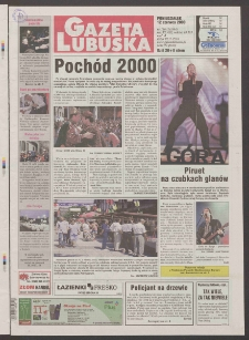 Gazeta Lubuska R. XLVIII [właśc. XLIX], nr 136 (12 czerwca 2000). - Wyd. A