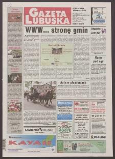 Gazeta Lubuska R. XLVIII [właśc. XLIX], nr 142 (19 czerwca 2000). - Wyd. A