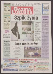 Gazeta Lubuska : magazyn R. XLVIII [właśc. XLIX], nr 146 (24/25 czerwca 2000). - Wyd. A