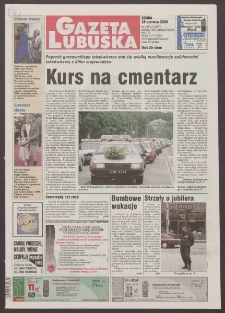 Gazeta Lubuska R. XLVIII [właśc. XLIX], nr 149 (28 czerwca 2000). - Wyd. A
