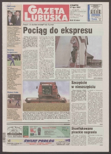 Gazeta Lubuska R. XLVIII [właśc. XLIX], nr 174 (27 lipca 2000). - Wyd. A