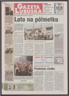 Gazeta Lubuska R. XLVIII [właśc. XLIX], nr 178 (1 sierpnia 2000). - Wyd. A