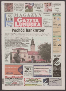 Gazeta Lubuska : magazyn R. XLVIII [właśc. XLIX], nr 182 (5/6 sierpnia 2000). - Wyd. A