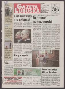 Gazeta Lubuska R. XLVIII [właśc. XLIX], nr 187 (11 sierpnia 2000). - Wyd. A