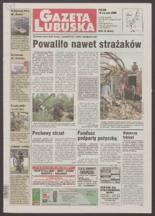 Gazeta Lubuska R. XLVIII [właśc. XLIX], nr 192 (18 sierpnia 2000). - Wyd. A