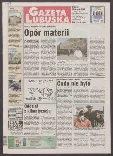 Gazeta Lubuska R. XLVIII [właśc. XLIX], nr 195 (22 sierpnia 2000). - Wyd. A