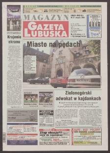 Gazeta Lubuska : magazyn R. XLVIII [właśc. XLIX], nr 199 (26/27 sierpnia 2000). - Wyd. A