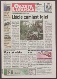 Gazeta Lubuska R. XLVIII [właśc. XLIX], nr 201 (29 sierpnia 2000). - Wyd. A