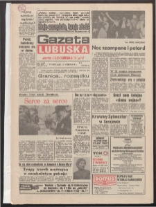 Gazeta Lubuska : dawniej Zielonogórska-Gorzowska R. XLII [właśc. XLIII], nr 1 (3 stycznia 1994). - Wyd. 1