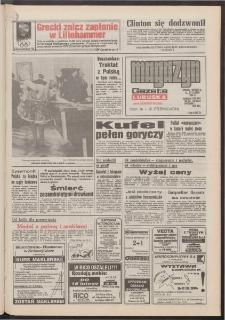 Gazeta Lubuska : magazyn : dawniej Zielonogórska-Gorzowska R. XLII [właśc. XLIII], nr 36 (12/13 lutego 1994). - Wyd. 1