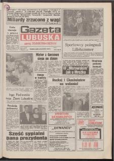 Gazeta Lubuska : dawniej Zielonogórska-Gorzowska R. XLII [właśc. XLIII], nr 49 (28 lutego 1994). - Wyd. 1