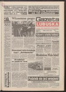 Gazeta Lubuska : dawniej Zielonogórska-Gorzowska R. XLII [właśc. XLIII], nr 68 (22 marca 1994). - Wyd. 1