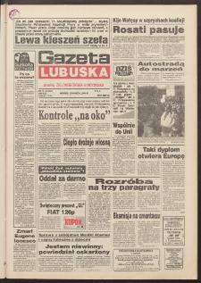 Gazeta Lubuska : dawniej Zielonogórska-Gorzowska R. XLII [właśc. XLIII], nr 74 (29 marca 1994). - Wyd. 1