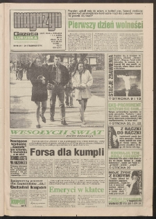 Gazeta Lubuska : magazyn : dawniej Zielonogórska-Gorzowska R. XLII [właśc. XLIII], nr 78 (2/3/4 kwietnia 1994). - Wyd. 1