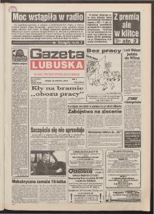 Gazeta Lubuska : dawniej Zielonogórska-Gorzowska R. XLII [właśc. XLIII], nr 97 (26 kwietnia 1994). - Wyd. 1