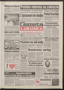 Gazeta Lubuska : dawniej Zielonogórska-Gorzowska R. XLII [właśc. XLIII], nr 99 (28 kwietnia 1994). - Wyd. 1