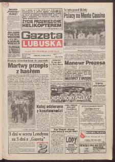 Gazeta Lubuska : dawniej Zielonogórska-Gorzowska R. XLII [właśc. XLIII], nr 116 (19 maja 1994). - Wyd. 1
