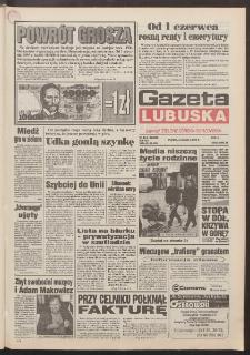 Gazeta Lubuska : dawniej Zielonogórska-Gorzowska R. XLII [właśc. XLIII], nr 111 (13 maja 1994). - Wyd. 1