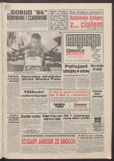 Gazeta Lubuska : magazyn : dawniej Zielonogórska-Gorzowska R. XLII [właśc. XLIII], nr 112 (14/15 maja 1994). - Wyd. 1