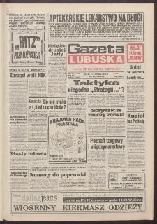 Gazeta Lubuska : dawniej Zielonogórska-Gorzowska R. XLII [właśc. XLIII], nr 134 (10 czerwca 1994). - Wyd. 1