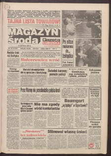 Gazeta Lubuska : magazyn środa : dawniej Zielonogórska-Gorzowska R. XLII [właśc. XLIII], nr 132 (8 czerwca 1994). - Wyd. 1