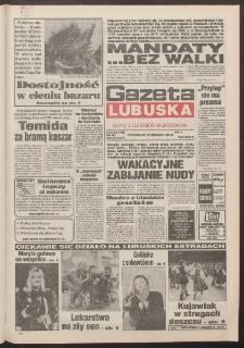 Gazeta Lubuska : dawniej Zielonogórska-Gorzowska R. XLII [właśc. XLIII], nr 142 (20 czerwca 1994). - Wyd. 1