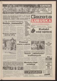 Gazeta Lubuska : dawniej Zielonogórska-Gorzowska R. XLII [właśc. XLIII], nr 154 (4 lipca 1994). - Wyd. 1