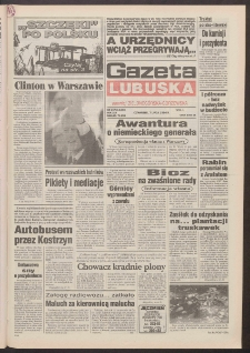 Gazeta Lubuska : dawniej Zielonogórska-Gorzowska R. XLII [właśc. XLIII], nr 157 (7 lipca 1994). - Wyd. 1