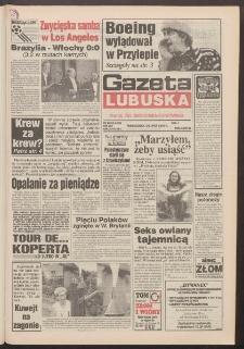 Gazeta Lubuska : dawniej Zielonogórska-Gorzowska R. XLII [właśc. XLIII], nr 166 (18 lipca 1994). - Wyd. 1
