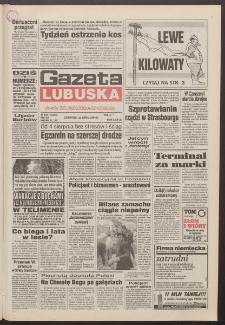 Gazeta Lubuska : dawniej Zielonogórska-Gorzowska R. XLII [właśc. XLIII], nr 169 (21 lipca 1994). - Wyd. 1