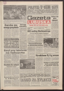 Gazeta Lubuska : dawniej Zielonogórska-Gorzowska R. XLII [właśc. XLIII], nr 198 (25 sierpnia 1994). - Wyd. 1