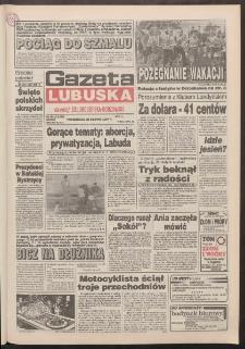 Gazeta Lubuska : dawniej Zielonogórska-Gorzowska R. XLII [właśc. XLIII], nr 201 (29 sierpnia 1994). - Wyd. 1