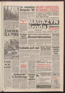 Gazeta Lubuska : magazyn środa : dawniej Zielonogórska-Gorzowska R. XLII [właśc. XLIII], nr 203 (31 sierpnia 1994). - Wyd. 1