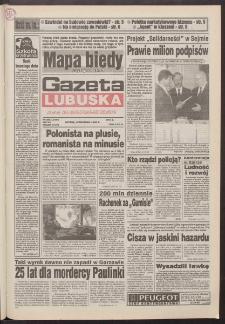 Gazeta Lubuska : dawniej Zielonogórska-Gorzowska R. XLII [właśc. XLIII], nr 208 (6 września 1994). - Wyd. 1