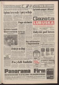 Gazeta Lubuska : dawniej Zielonogórska-Gorzowska R. XLII [właśc. XLIII], nr 211 (9 września 1994). - Wyd. 1
