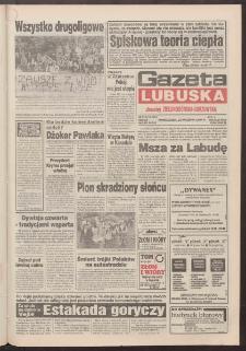 Gazeta Lubuska : dawniej Zielonogórska-Gorzowska R. XLII [właśc. XLIII], nr 213 (12 września 1994). - Wyd. 1