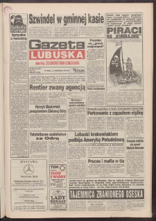 Gazeta Lubuska : dawniej Zielonogórska-Gorzowska R. XLII [właśc. XLIII], nr 214 (13 września 1994). - Wyd. 1
