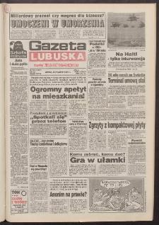Gazeta Lubuska : dawniej Zielonogórska-Gorzowska R. XLII [właśc. XLIII], nr 220 (20 września 1994). - Wyd. 1