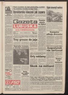 Gazeta Lubuska : dawniej Zielonogórska-Gorzowska R. XLII [właśc. XLIII], nr 226 (27 września 1994). - Wyd. 1
