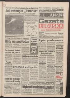 Gazeta Lubuska : dawniej Zielonogórska-Gorzowska R. XLII [właśc. XLIII], nr 228 (29 września 1994). - Wyd. 1