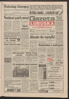 Gazeta Lubuska : dawniej Zielonogórska-Gorzowska R. XLII [właśc. XLIII], nr 231 (3 października 1994). - Wyd. 1