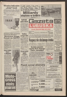 Gazeta Lubuska : dawniej Zielonogórska-Gorzowska R. XLII [właśc. XLIII], nr 237 (10 października 1994). - Wyd. 1