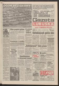 Gazeta Lubuska : dawniej Zielonogórska-Gorzowska R. XLII [właśc. XLIII], nr 238 (11 października 1994). - Wyd. 1