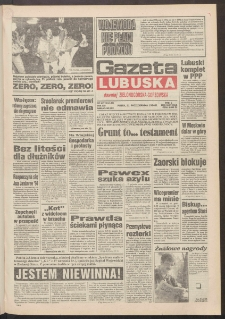 Gazeta Lubuska : dawniej Zielonogórska-Gorzowska R. XLII [właśc. XLIII], nr 247 (21 października 1994). - Wyd. 1