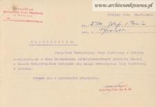 Józef Wilk - Zaproszenie